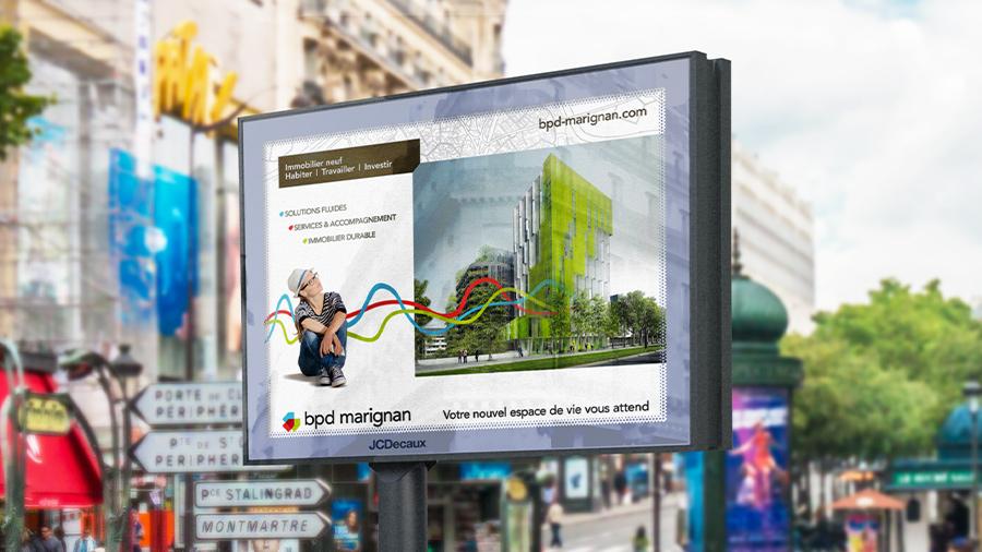BPD Marignan s'affiche avec ComNext