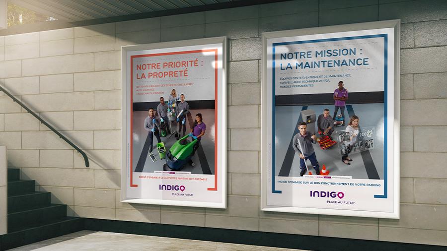 Indigo s'affiche avec ComNext