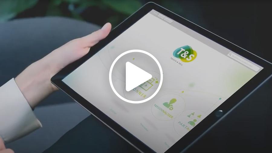 Avec ComNext, découvrez l'application de présentation Touch&Sell