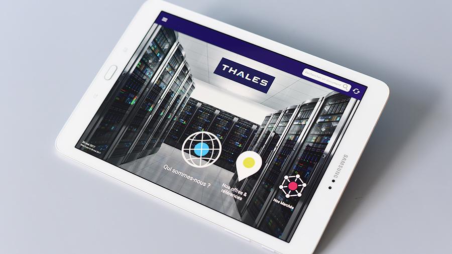 ComNext accompagne Thales dans la digitalisation de ses forces de ventes