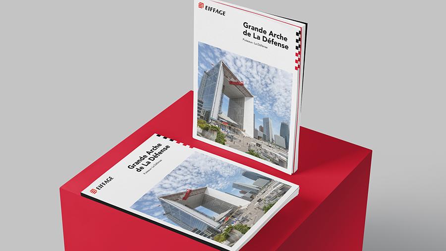 ComNext réalise un livre photos sur la Grande Arche de la Défense