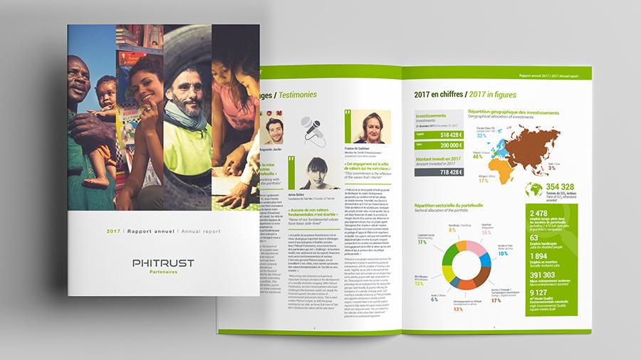 Le nouveau Rapport Annuel Phitrust conçu par ComNext