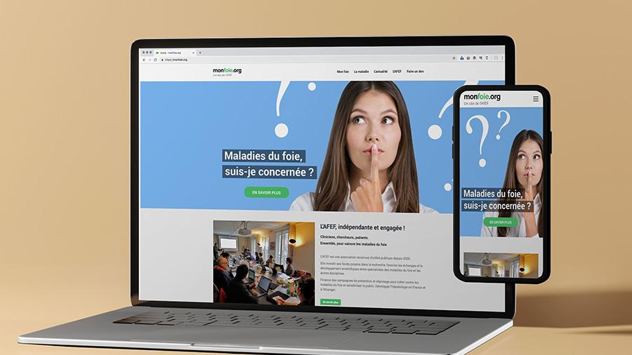 ComNext crée le site de référence sur les maladies du foie
