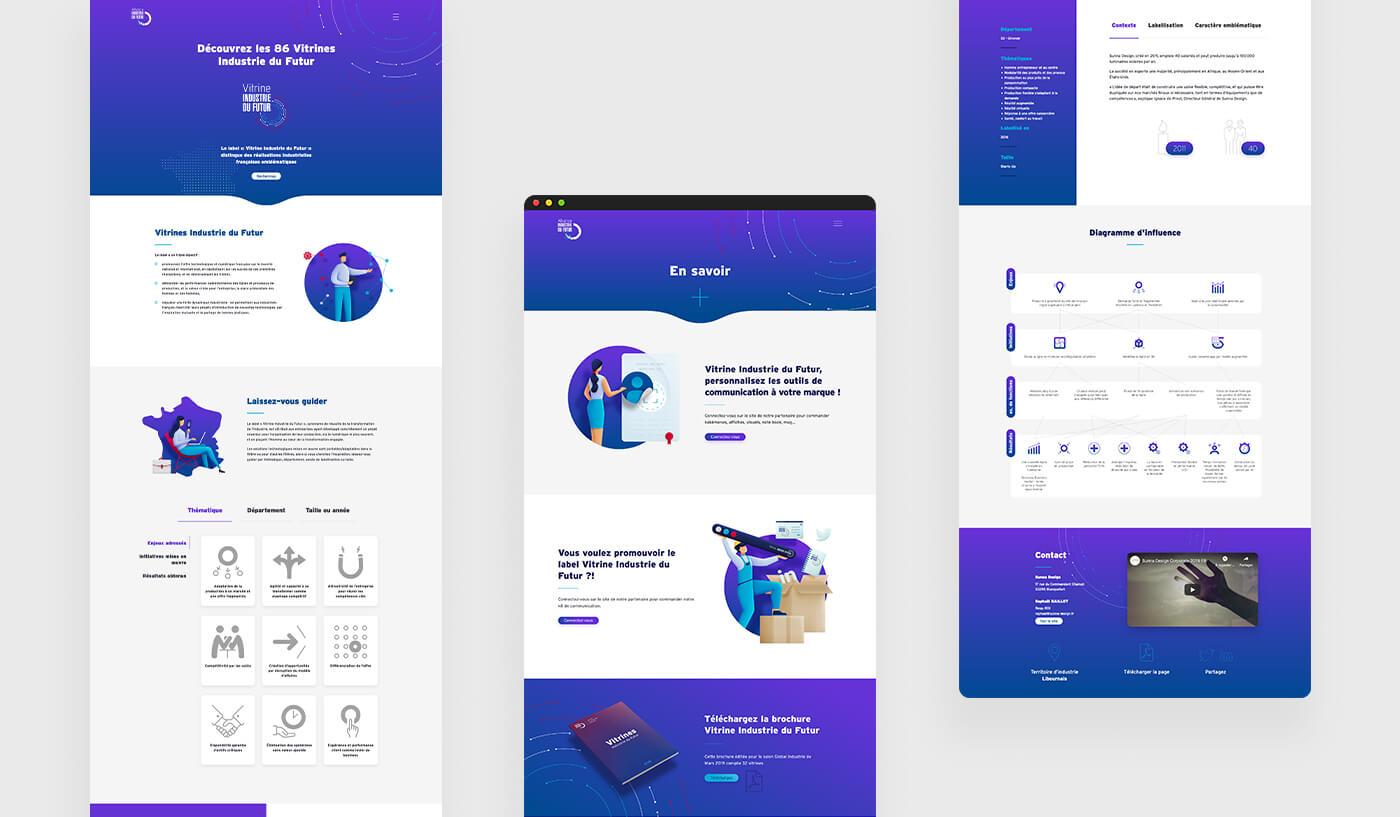 Vitrines Industrie du Futur, un nouveau site conçu et développé par Comnext