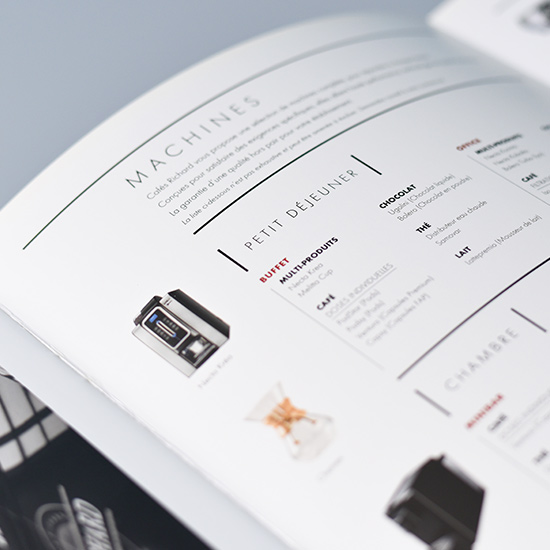 cafés richard - brochure présentation produits