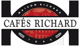 cafés richard - brochure présentation produits - logo