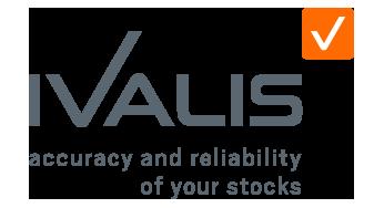 Ivalis - spécialiste de l'inventaire - site internet - logo