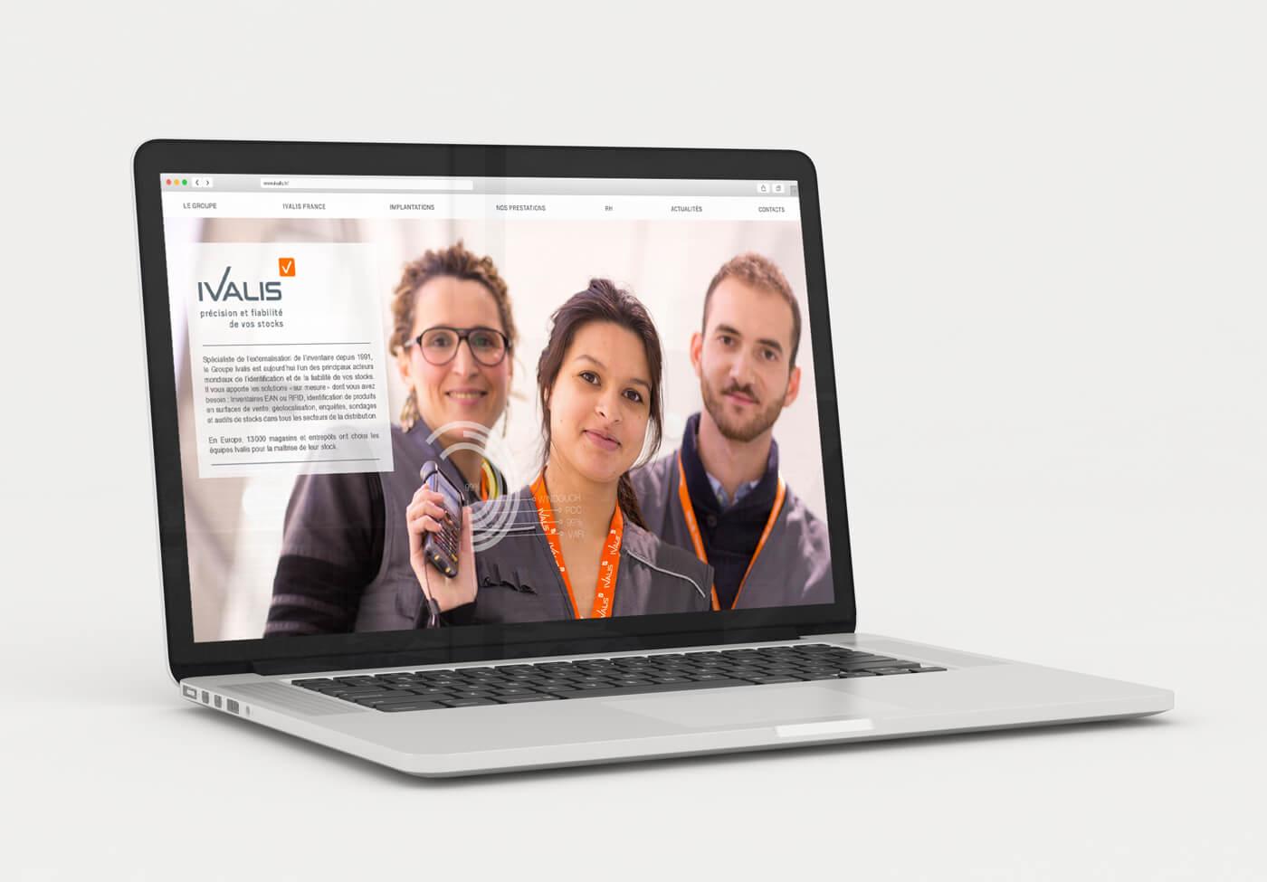Ivalis - spécialiste de l'inventaire - site internet