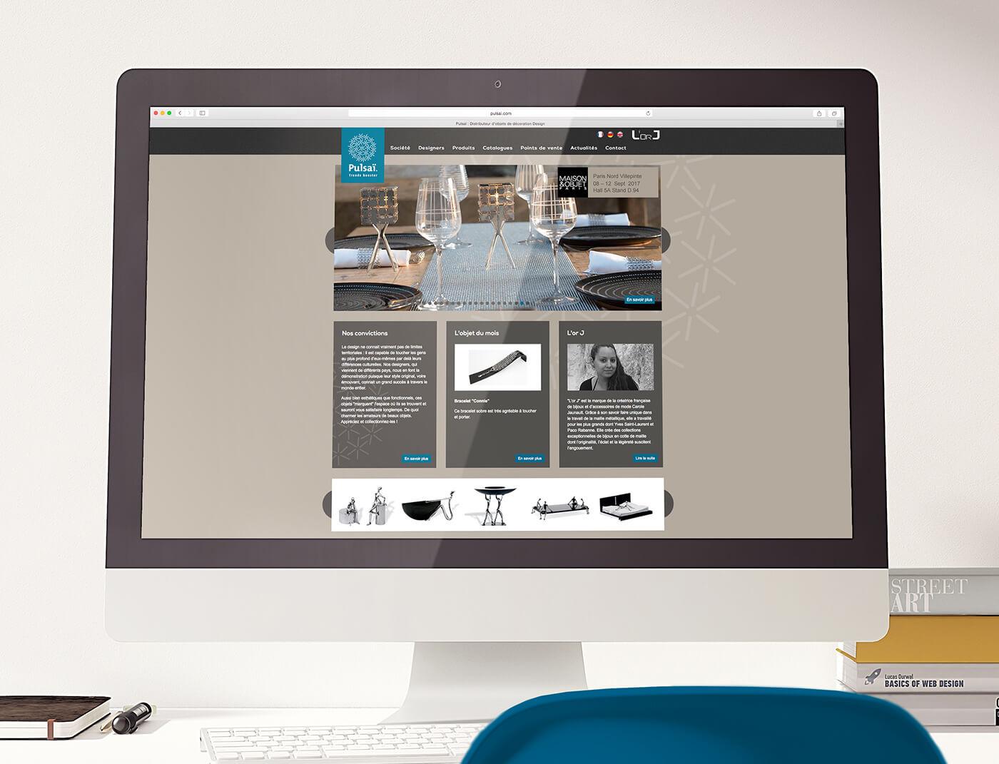 pulsai - site e-commerce