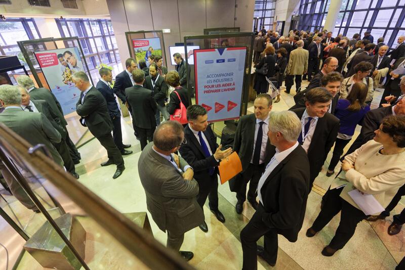 Réseau CTI - exposition à Bercy