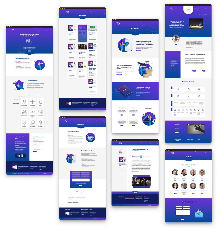 Site internet - vitrine industrie du futur