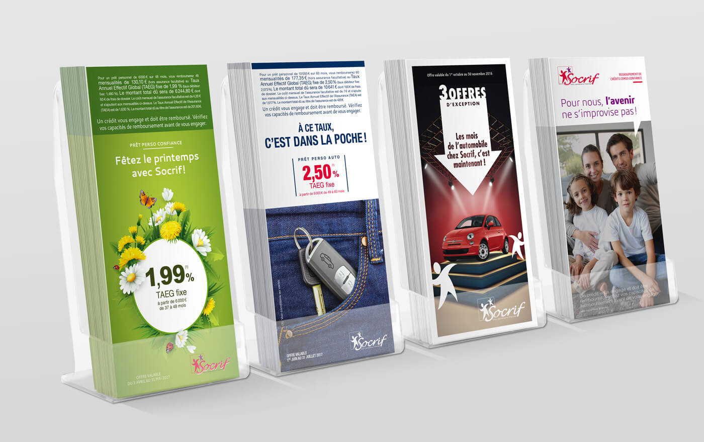 Socrif - marketing - leaflet