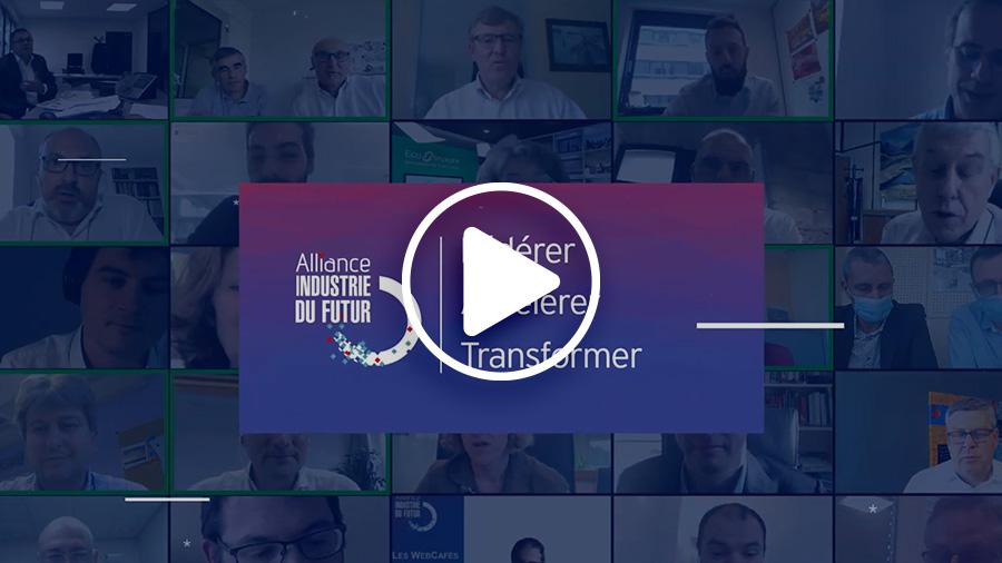 vœux video 2021 alliance industrie du futur