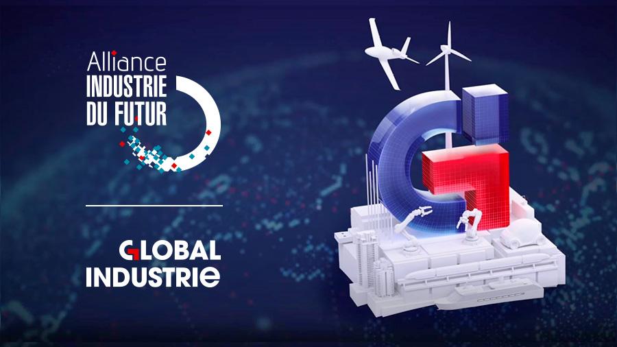comnext agence de communication paris - site internet, motion design - salon global industrie 2021 -alliance industrie du futur - la french fab